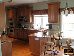 Microwave In Kitchen Cabinet Retrofitting Kitchen For Over The Range Microwave