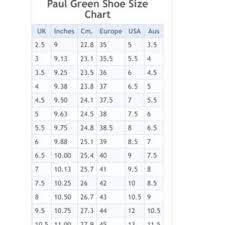Paul Green Shoe Size Chart Paul Green Truffle Suede Lynne Pumps Heels
