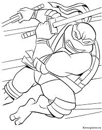 Ninja Turtles Kleurplaten Kleurplateneu