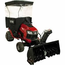 craftsman dual stage snow blower tractor attachment sears