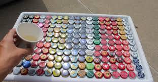 Bottle Cap Decorations Beer Bottle Cap Table 100 Crafts Ideas Home Design Coffee Caps 42