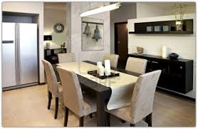 dining table modern room