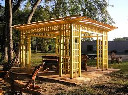 simple wood patio covers. Simple Wood Wood For Pergola Freestanding Patio Cover Simple Wooden Yellow Stained  Elegant Item Creations Stylish Decorate Modern And Covers E