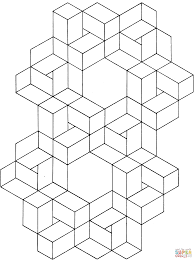 Colours may vary slightly due to different colour monitors. Optical Illusion 11 Coloring Page Free Printable Coloring Pages Geometric Coloring Pages Optical Illusions Coloring Pages