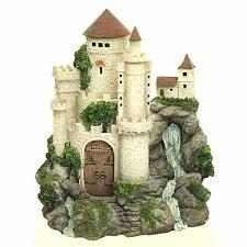 fairy garden castle. Fairy Castle With Waterfall Garden