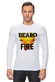 Лонгслив <b>Beard</b> Like Fire #546169 от Borodachi по цене 1 400 руб ...