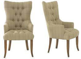 attractive dining arm chairs with glamorous high back room