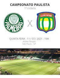 Assistir Palmeiras X Santo Andre