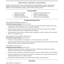 Cna Resume Summary Examples Surprising Professional Cna Resume Sample For Lovely Objective Forms 51