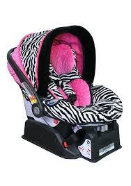 leopard infant car seat image detail for zebra hot pink custom infant car seat cover for