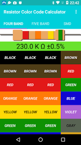 Do you know the meaning of resistor color code charts and how to read resistor color codes? Resistor Color Code Calculator By Rishabh Rawat More Detailed Information Than App Store Google Play By Appgrooves Education 8 Similar Apps 556 Reviews
