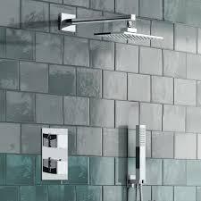 ibath 2 way thermostatic mixer valve shower set