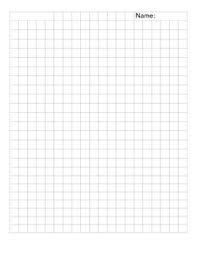 1cm X 1cm Grid Paper By A Faye Teachers Pay Teachers