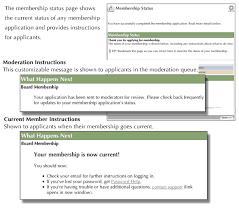Application For Membership 31 Membership Application Processes