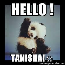 HELLO ! TANISHA!☺ - Cute Baby Panda | Meme Generator via Relatably.com