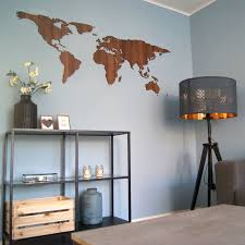 world map wall art designs made from wood