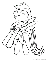 Small Picture my little pony Rainbow Dash Coloring Pages printable Free
