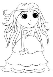Disegno Di Principessa Anime Da Colorare Disegni Da Colorare E