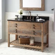 wood bathroom vanity. 48\ Wood Bathroom Vanity V