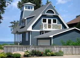 blue exterior paintPrivate Cottage Sodus Point NY  Traditional  Exterior  New