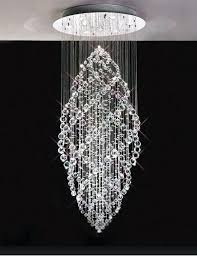 modern crystal chandelier spiral spiral crystal pendant led crystal chandelier modern square stainless steel plating
