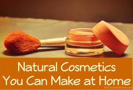 make natural cosmetics at home