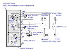 6 pin flasher relay wiring diagram google search automobile bosch 24v flasher relay google search