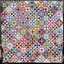 7 best Steampunk Jen Kingwell images on Pinterest | Block quilt ... & Steam Punk quilt by Jeannette of Gone Aussie Quilting Adamdwight.com