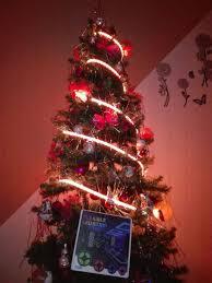 Christmas Tape Lights Christmas Tree With Led Strip Lights 5050 Ledstrip Strip