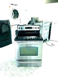 flat glass top range cleaner best electric stove cleaning burner not working