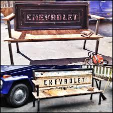 vintage chevrolet truck logo. reclaimed wood salvaged steel industrial furniture yesterday chevrolet silverado vintage truck logo