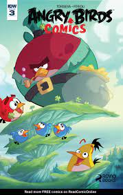 Read online Angry Birds Comics (2016) comic - Issue #3
