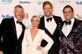 the living room cast at the logies