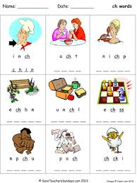 Note how we organize the letter columns below each cvc word in these power phonics worksheets. Ch Phonics Worksheets Teaching Resources