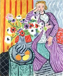 Olive-Mary Stitt Elementary Art Awareness Purple Robe by Henri Matisse