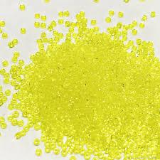Японский <b>бисер ТОНО</b>, лимонный, #<b>0012</b>, 15/0 – купить на ...