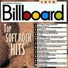 Billboard Charts 1970 By Week The Hideaway Soft Rock Week Rhinos Billboard Top Soft