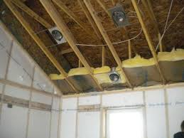 how to insulate a ceiling. Wonderful Ceiling Loosing Heat Without Insulation And How To Insulate A Ceiling E