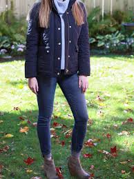 Plaid & Pearls: JCrew Quilted Fall Jacket // Preppy Fall Fashion ... & Plaid & Pearls: JCrew Quilted Fall Jacket // Preppy Fall Fashion Adamdwight.com