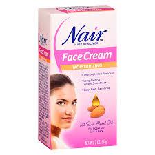 nair moisturizing face cream hair remover2 oz
