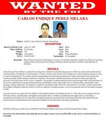 Criminal Wanted Poster Simple FBI's 'most Wanted' Includes Hacker Who Helped Catch Cheating Lovers