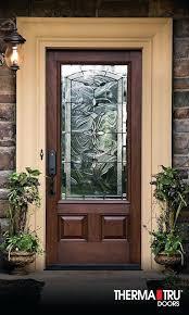 decorative front doors atlanta ga therma tru classic craft mahogany collection fiberglass door with bella decorative