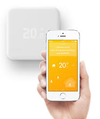 Wifi Thermostat With Smart Technology U2013 Vivintu0027s ElementRemote Thermostat Control From Phone