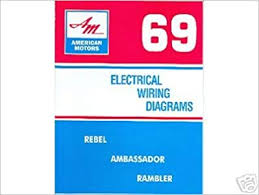 1969 amc javelin & amx wiring diagram manual american motors 1968 amc amx wiring diagram at Amc Amx Wiring Diagram