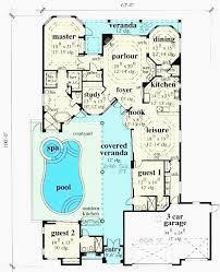 mansion plans with indoor pool awesome mansion house plans indoor pool ranch with design small home s