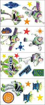 Toy Story Buzz Lightyear Room Appliques