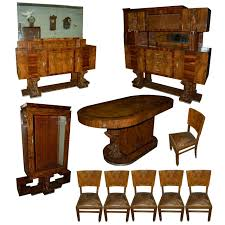 fabulous 10 pc art deco dining set c 1920 dining sets at antiquarian traders art deco dining room table