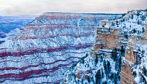 the grand canyon in winter