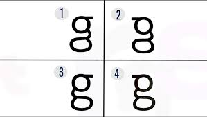 letter g a letter of the alphabet we can read but not write neuroscience news