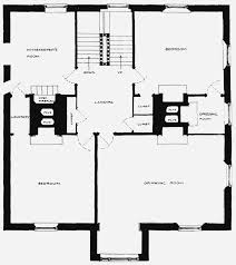 b first floor plan